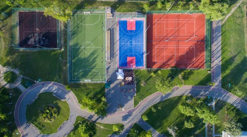"""2 игрища за волейбол – парк """"Артилерийски"""""""